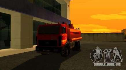 MAZ caminhão para GTA San Andreas