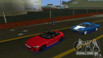 BMW Z4 V10 2011 para GTA Vice City