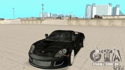 Porsche Carrera GT stock para GTA San Andreas