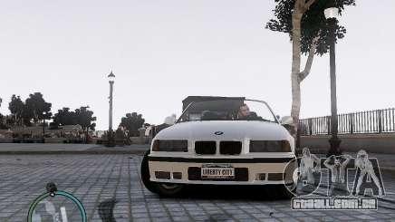 BMW M3 e36 1997 Cabriolet para GTA 4