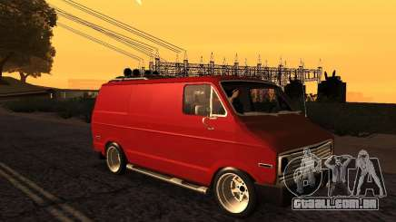 Dodge Tradesman 1976 Tuned para GTA San Andreas