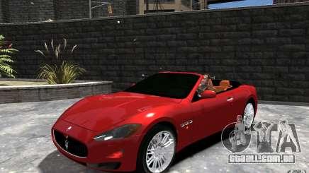 Maserati GranCabrio para GTA 4