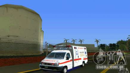 RTW Ambulance para GTA Vice City