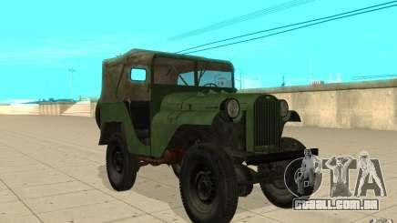 Gaz-64 pele 1 para GTA San Andreas
