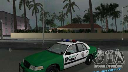 Ford Crown Victoria 2003 Police para GTA Vice City