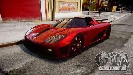 Koenigsegg CCXR Edition para GTA 4