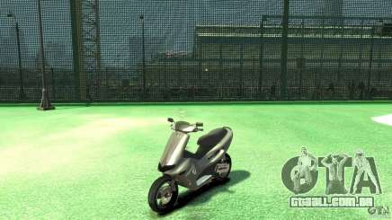 Gilera runner 50 SP With livery2 para GTA 4