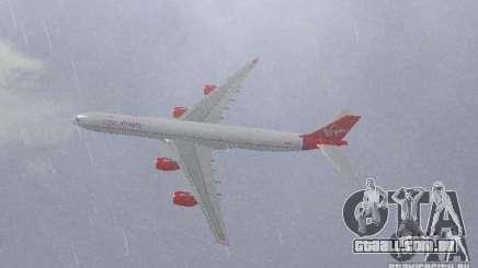 Airbus A340-600 Virgin Atlantic para GTA San Andreas