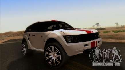 Bowler EXR S 2012 para GTA San Andreas