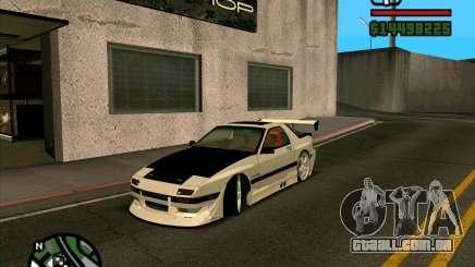 MAZDA FC3S DRIFT TUNE para GTA San Andreas