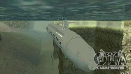 USS Submarine Beta para GTA San Andreas