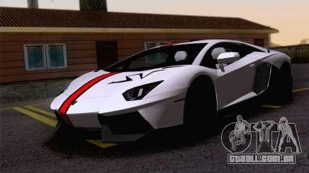 Trabalho de pintura Lamborghini Aventador Aventador LP700-4 para GTA San Andreas