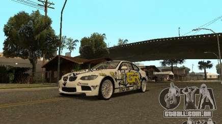 BMW M3 E92 Grip King para GTA San Andreas