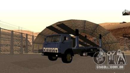 Caminhão KAMAZ para GTA San Andreas