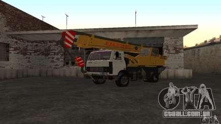 MAZ caminhão guindaste para GTA San Andreas