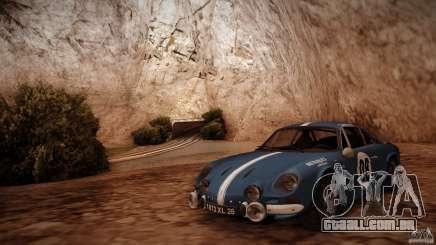 Renault Alpine A110 1600S Rally para GTA San Andreas