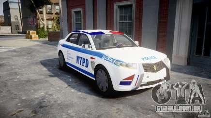 Carbon Motors E7 Concept Interceptor NYPD [ELS] para GTA 4
