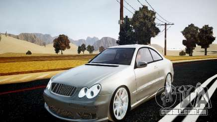 Mercedes-Benz CLK63 AMG Final para GTA 4