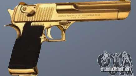 Golden Desert Eagle para GTA San Andreas
