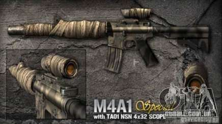 [Point Blank] M4A1 S para GTA San Andreas