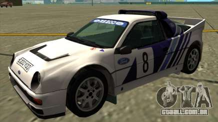 Ford RS200 rally para GTA San Andreas