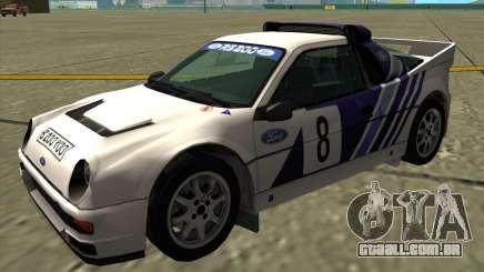 Ford RS200 rally para GTA San Andreas