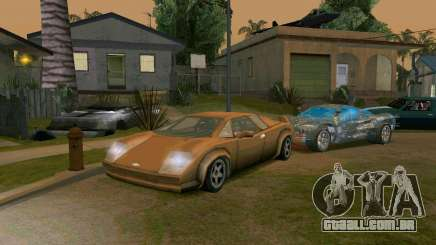Infernus from Vice City para GTA San Andreas