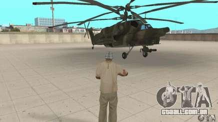 Mi-28 para GTA San Andreas