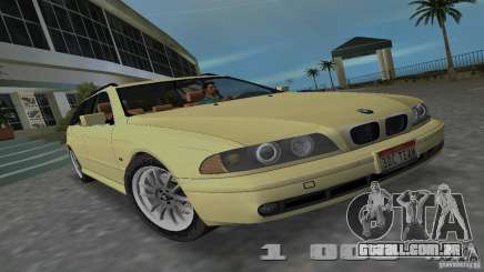 BMW 5S Touring E39 para GTA Vice City
