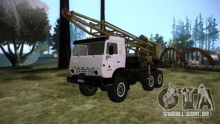KAMAZ 43118 rig para GTA San Andreas