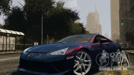 Lexus LF-A para GTA 4