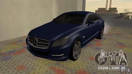 Mercedes-Benz CLS63 AMG 2012 para GTA San Andreas