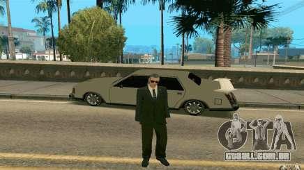 Black MIB para GTA San Andreas
