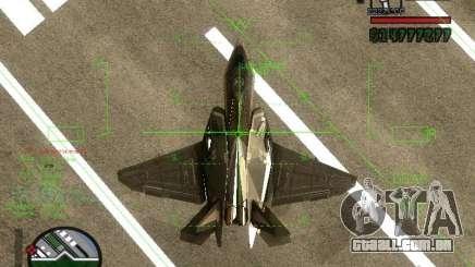 Xa-20 razorback para GTA San Andreas