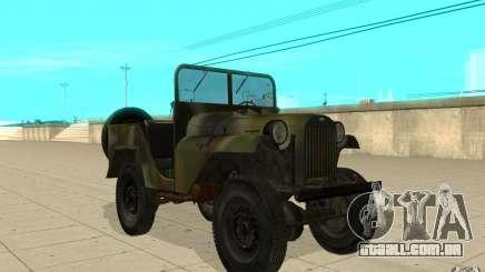 Gaz-64 pele 2 para GTA San Andreas