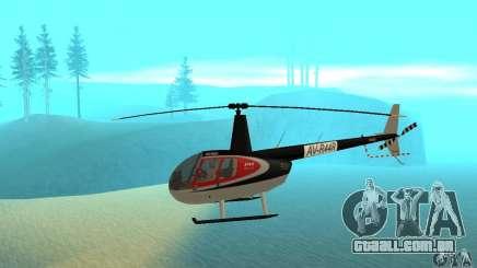 Robinson R44 Raven II NC 1.0 pele 2 para GTA San Andreas