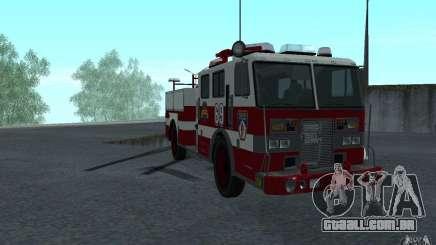 FIRETRUCK para GTA San Andreas