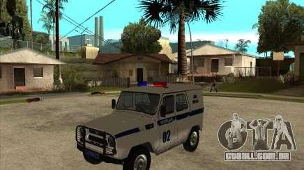 UAZ 31514 patrulha para GTA San Andreas