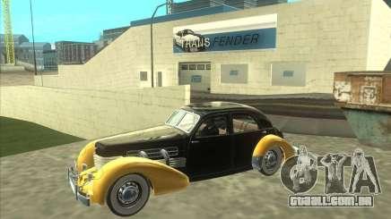 1937 Cord 812 Charged Beverly Sedan para GTA San Andreas