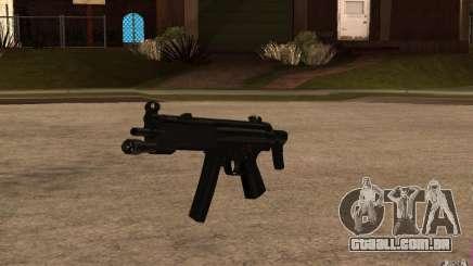 Nova MP5 com lanterna para GTA San Andreas