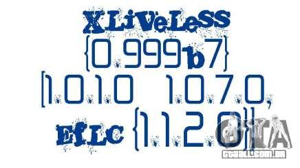 XLiveLess 0.999b7 [1.0.1.0-1.0.7.0,EfLC 1.1.2.0] para GTA 4