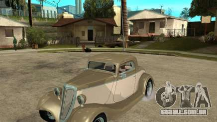 Ford 1934 Coupe v2 para GTA San Andreas