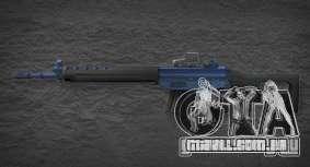 [Point Blank] SG550 Blue para GTA San Andreas