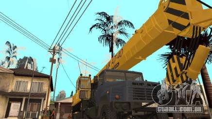 MKAT-40 com base no Kraz-250 para GTA San Andreas
