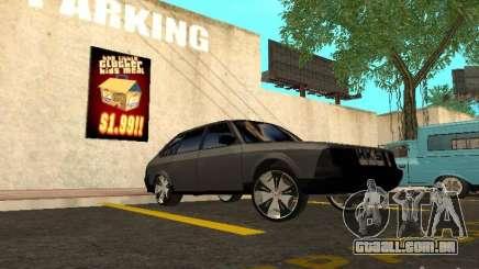 AZLK-2141 Tuning para GTA San Andreas