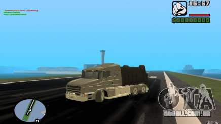 Caminhão de lixo Scania T164 para GTA San Andreas