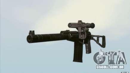 Como o Rifle de assalto do Val para GTA San Andreas