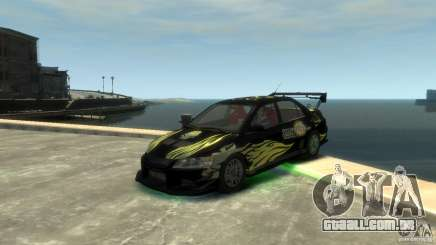 Mitsubishi EVO IX para GTA 4
