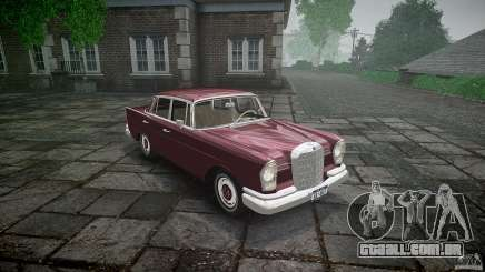 Mercedes Benz W111 Final para GTA 4