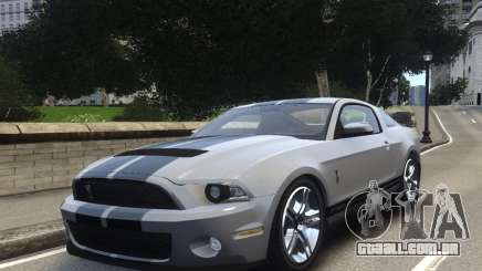 Shelby GT500 2010 para GTA 4